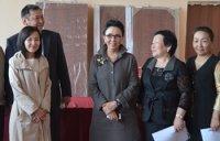Депутат Государственной Думы Лариса Шойгу работает в Туве – в своем избирательном округе