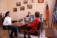 Сенатор Онер Ондар провел очередной прием граждан