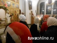 Православные верующие Тувы встретили Пасху