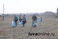 На Левобережных дачах Кызыла ударно потрудились волонтеры и дачники 6-го садоводческого общества