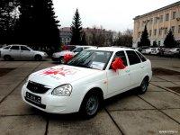 Кому достанется шикарное белое авто с номером «100» - станет известно 1 мая