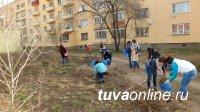 Совет микрорайона «Центральный» при поддержке волонтеров убрал сквер у памятника «Непокоренному Арату»