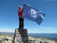 """Тувинская альпинистка прекратила восхождение на Эверест. Высочайшую вершину миру временно """"закрыли"""""""