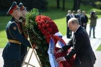 Президент России поздравил жителей Тувы с Днем Победы