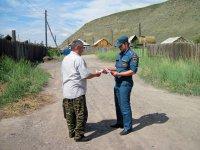 В районе Левобережных дач Кызыла в праздничные дни организованы рейды комплексных групп