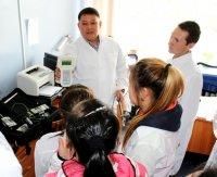 В Управлении Роспотребнадзора прошел «День открытых дверей» для старшеклассников Кызылских школ