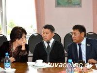 На новой строящейся железнодорожной станции Курагино-2 побывала делегация из Тувы