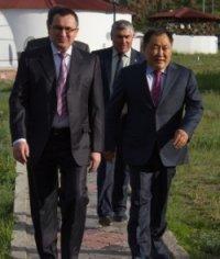 Николай Федоров и Шолбан Кара-оол договорились развивать мелиорацию в Туве и продолжать работу по устойчивому развитию сельских территорий