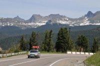 На федеральной автодороге М-54 «Енисей» введены ограничения для большегрузных машин