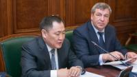 Премьер Шолбан Кара-оол принимает участие в заседании федерального оргкомитета по празднованию 100-летия единения Тувы и России