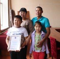 За спасение людей жителю города Чадан вручили благодарственное письмо
