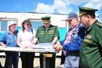 На правом берегу Кызыла возводится новый призывной пункт