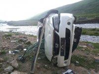 На автодороге Кызыл-Тээли в ДТП погибло 2 человека, 7 госпитализированы