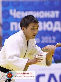 Альберт Монгуш - чемпион Сибири по дзюдо