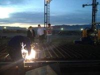 Глава Тувы в конце рабочего дня инспектирует юбилейные стройки
