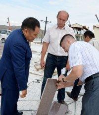 Глава Тувы проинспектировал строительные площадки столицы