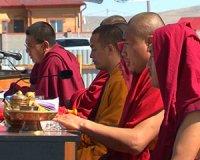 В столице Тувы освятили площадку под строительство нового буддийского храма