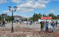 На Кызылском Арбате установлены фонари