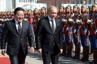 Глава Тувы Шолбан Кара-оол в составе официальной делегации Президента РФ Владимира Путина находится в Монголии