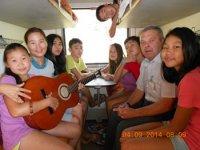 Начальник поезда №68 «Москва-Абакан» обратился с благодарностью к народу Тувы за достойное воспитание детей и молодежи