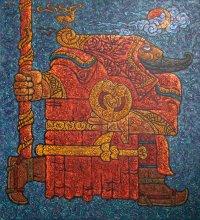 В Национальном музее Тувы открыта выставка Шоя Чурука, основанная на скифских мотивах