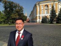 """Александр Папын награжден медалью ордена """"За заслуги перед Отечеством"""""""