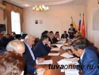 «Сверку часов» провели депутаты городского Хурала и вновь избранные от Кызыла депутаты парламента Тувы
