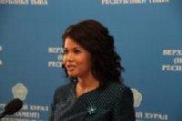 Оксана Белоконь будет представлять Туву в Совете Федерации