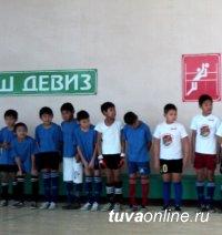 В школе № 3 Кызыла кипят футбольные страсти – 62 команды участвуют в турнире по мини-футболу