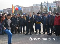 В Туве в День народного единства проведены состязания в национальных играх и забавах