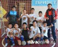 Дажы-Сан Кужугет (школа № 3) в матчах по мини-футболу забил 9 мячей!