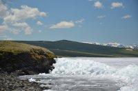 Трое рыбаков пропали на озере Хиндиктиг-Холь в Туве