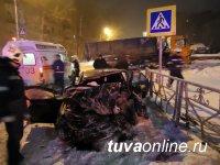 В Туве похоронили пострадавшего в автоаварии в Томске земляка