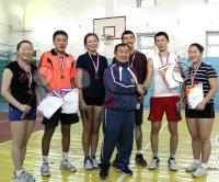 В Кызыле прошли первые соревнования по бадминтону