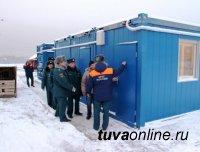 Тренировочный комплекс по подготовке пожарных установлен в Кызыле