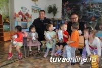Госавтоинспекция Тувы подарила новогодний праздник воспитанникам детского дома