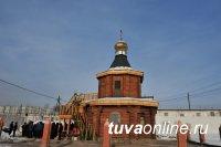 В тувинской колонии построен и освящен православный храм