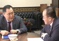 Глава Тувы встретился с генеральным консулом Монголии в г. Кызыле