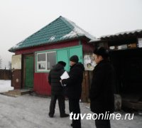 Мэрия Кызыла вместе с правоохранителями провела рейд в районе Левобережных дач