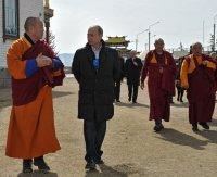Владимир Путин поздравил буддистов России с Новым годом по лунному календарю