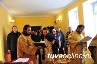 На городском кладбище Кызыла освящена часовня