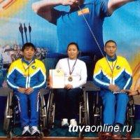 Команда лучников Тувы завоевала первое место в классическом луке на Кубке России среди лиц с поражением опорно-двигательного аппарата