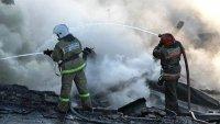Пожарные спасли магазин в Кызыле