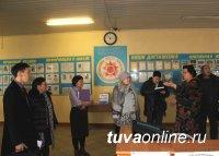 В Туве проведена командно-штабная тренировка по безаварийному пропуску весеннего половодь