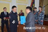 МВД по Республике Тыва отметило 93-летнюю годовщину со дня образования