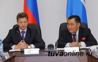 Глава Тувы на встрече с министром транспорта РФ отметил необходимость ускорения реализации важного для региона проекта