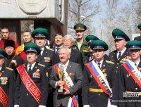 Тува передала Эстафету Победы Республике Алтай