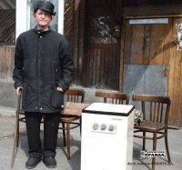 Тува: ветеран передал погорельцам Хакасии стиральную машину, ковер, утварь