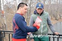 Коллектив МЧС Тувы активно участвует в республиканском субботнике