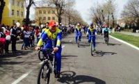 Кызыл: Более 230 человек приняло участие в велопробеге, посвященном 70-летию Победы